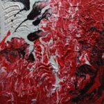 Pouring rot,weiss,sschwarz