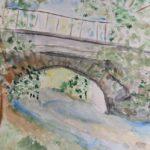 Brücke im Auetal