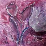 abstrakte Tulpen